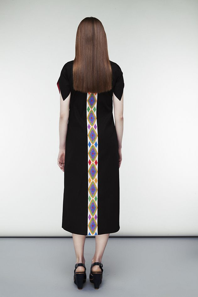 Dress with  Rhombuses